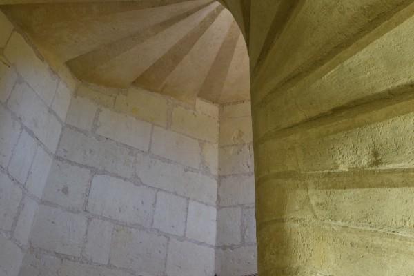 Château de Montsoreau – Escalier à Vis