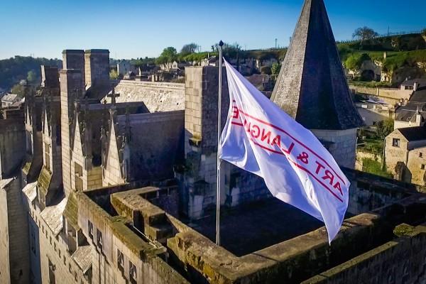 Château de Montsoreau – Drapeau Art & Language