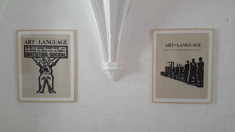 Art & Language, 10 Posters: Illustrations for Art-Language, 1977, Château de Montsoreau-Musée d'art contemporain