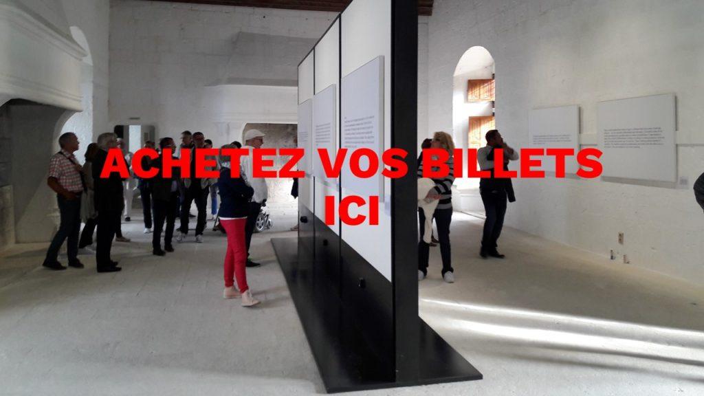 Acheter un billet ch teau de montsoreau mus e d 39 art for Acheter art contemporain