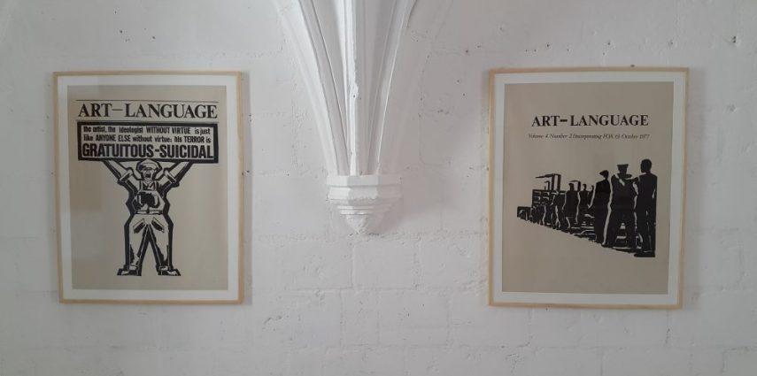 Installation #1, Art & Language Château de Montsoreau-Musée d'art contemporain, 2016.